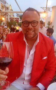 Red Extroverted Optimistic Courageous Confident Custom Suit