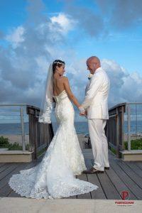 Custom Wedding Dress & Suit