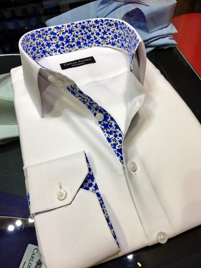 Custom Made White Shirts.